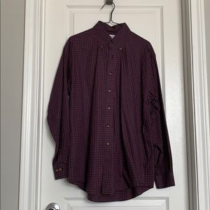 Brooks brothers button down dress shirt